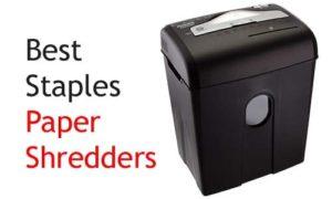 Best Staples paper shredders online