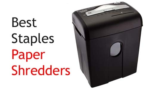 Best Staples paper shredders online