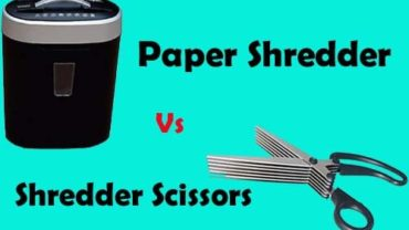 Paper Shredder Vs Shredder Scissors